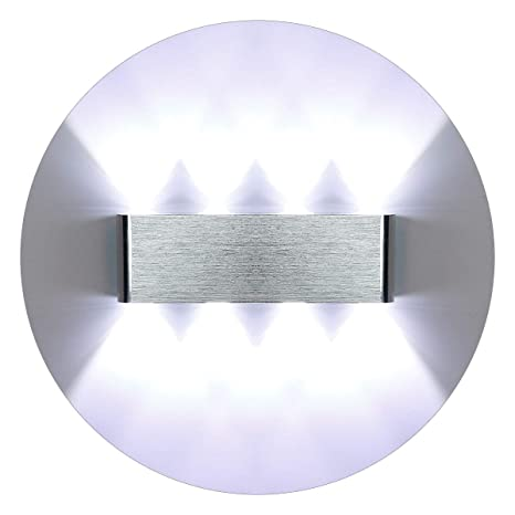 KAWELL Moderno Luz de Pared LED Apliques de Pared Aluminio Lámpara de Pared LED Interior para Dormitorio, Pasillo, Sala de Estar, Escaleras, KTV, ...