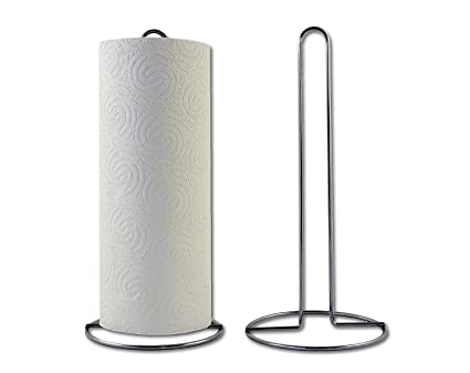 Soporte para rollos de cocina, 28 cm de alto: platzsparender Soporte para cocina paños