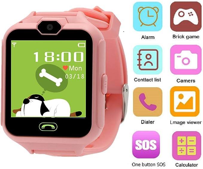 Hangang Smartwatch Phone Smart Kid giochi per fotocamera touch screen Cool Toys orologi, orologi da gioco per bambini, regali per ragazze ragazzi