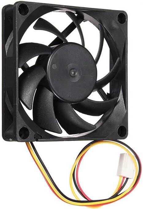 artistic9 (TM) 70 mm 12 V Ordenador/PC/CPU silencioso ventilador ...