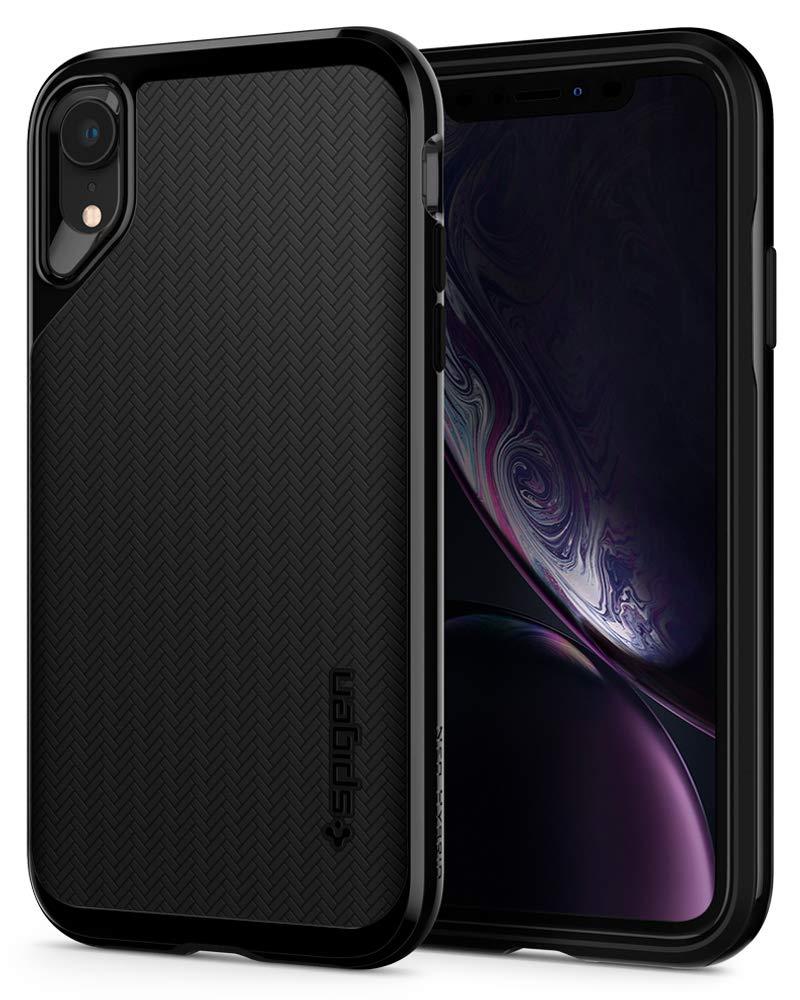 Funda Spigen iPhone Xr [jet Black] Neo Hybrid