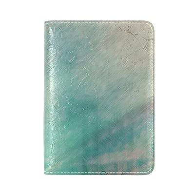 Brisper leather Passport Cover Holder Case Leather Protector for Men Women Kid