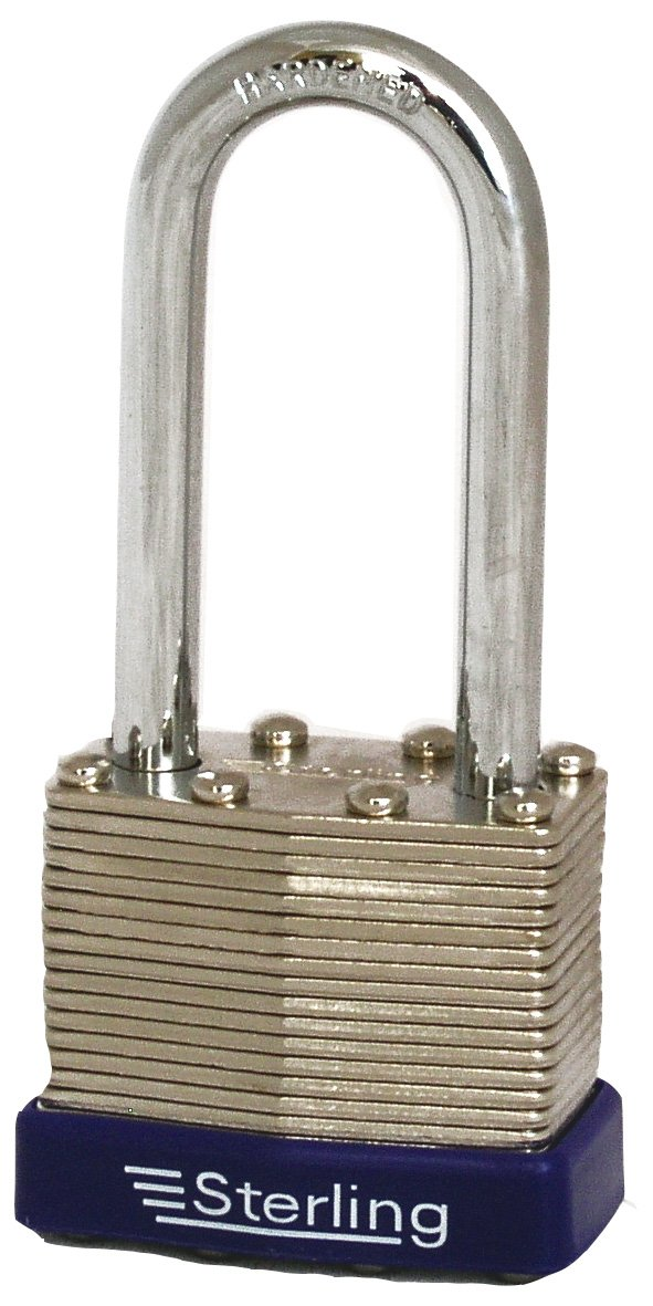 Sterling LPL242 40mm Double Locking Laminated Padlock with Long Shackle