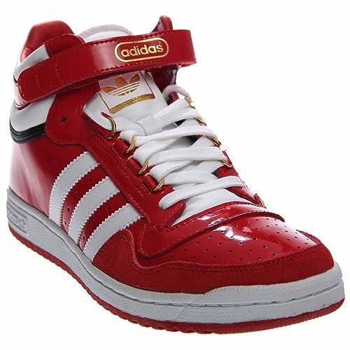 Adidas Men s Concord II 2 Mid Scarlett Red White F37264 Shoe 7.5 M ... e5969cec9