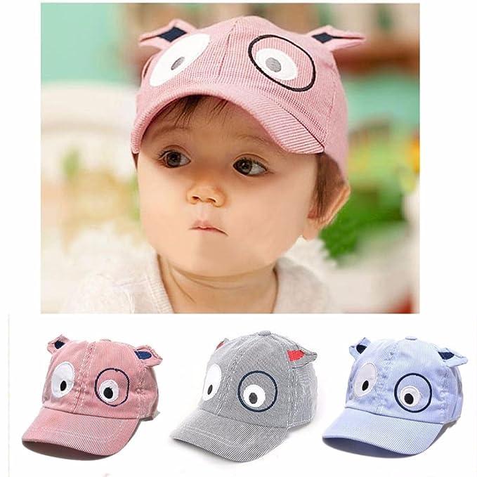 4fc790555c7 FALAIDUO Kids Boys Girls Cute Cartoon Dog Beret Hat Sun Hat Baseball Cap  for 1-3 Years (Red)  Amazon.co.uk  Clothing