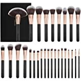 Docolor Makeup Brushes 28 Piece Professional Makeup Brush Set Premium Cosmetics Brushes Synthetic Kabuki Foundation…