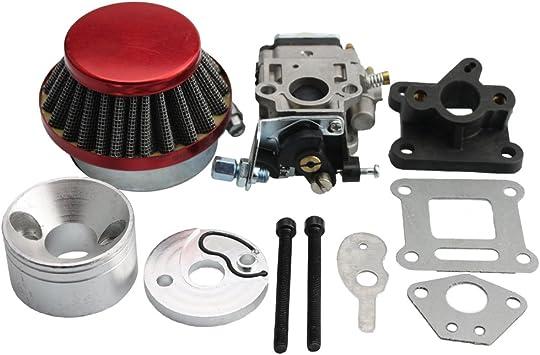 Carburetor Air Filter Stack Kit 33 43 49 50 52cc Gas Scooter Cat Eye Pocket Bike