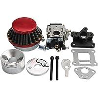 GOOFIT 15mm Racing Carburador Kit Carb Filtro