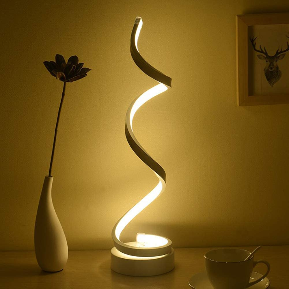Dimmable LED Bedside Table Lamp