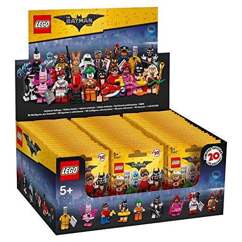 Lego Batman Movie Series Sealed Box Case of 60 Blind Bags Minifigures 71017 - Sealed Blind Box