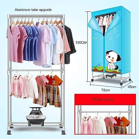 Clothing dryer YHz@Secador De Ropa PortáTil para El Hogar, Interior De Doble Capa