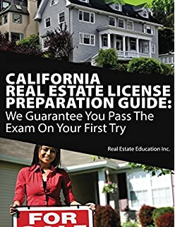 Amazon Com Cliffstestprep California Real Estate Salesperson Exam