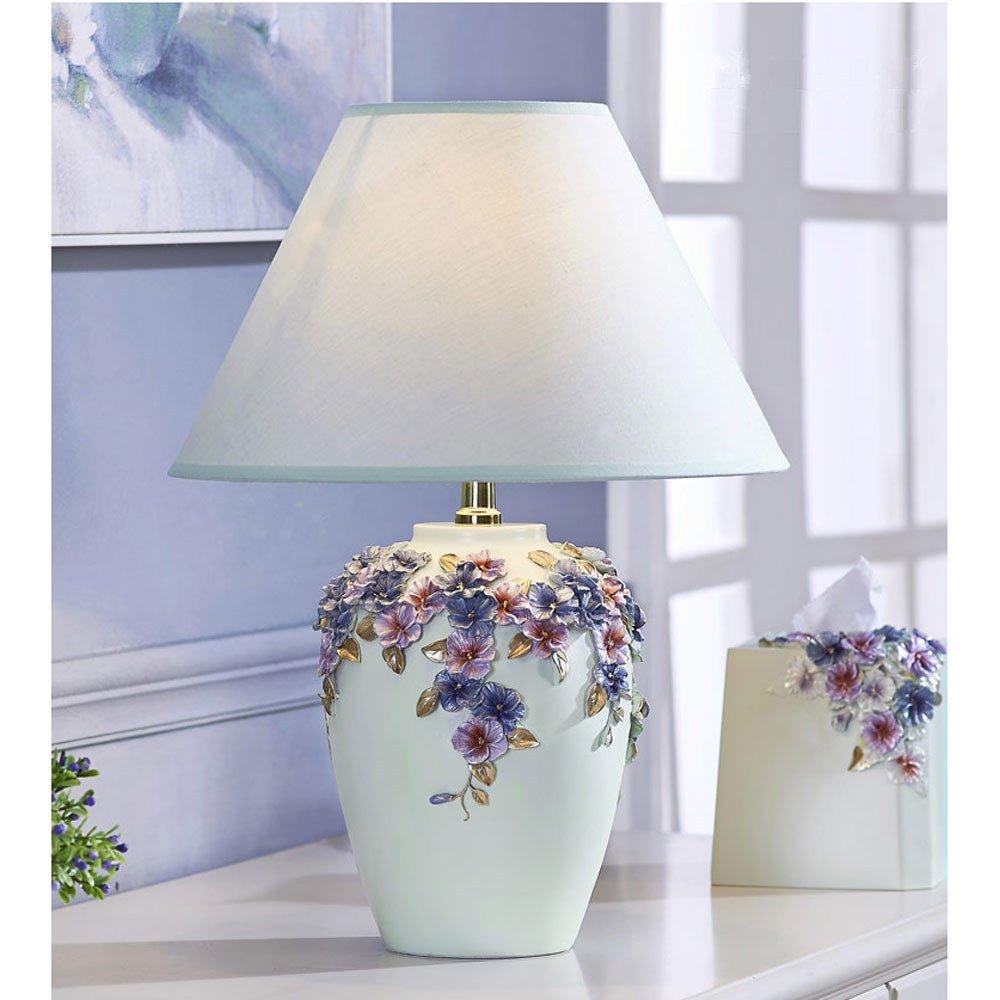 Retro Schreibtischlampe Moderne Minimalistische Stiefmütterchen Nachttischlampe Verknallt Fräulein Schlafzimmer Tischlampe Wohnzimmer Lampe, hohe 46cm-56cm E27 (Nicht enthalten) (C)