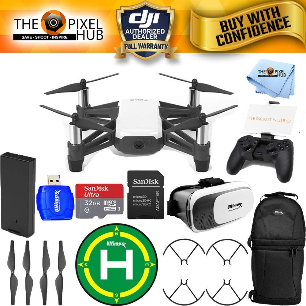 DJI Tello Quadcopter Drone With HD Camera And VR - By Ryze ...