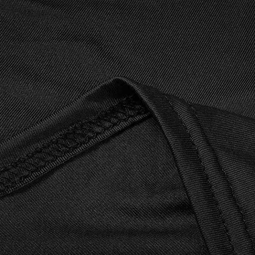Ofertas de Gasa Ceremonia para de Negro de Verano Coctel Noche 2018 Baratas Faldas Largos Sin Zolimx Partido de Manga Elegantes Vestidos Vestido Fiesta Mujer Mujer Ropa Encaje Vestidos 6TqBIw