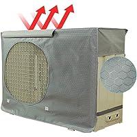 Bweele Couvercle antipoussière pour climatiseur extérieur Climatiseur extérieur antipoussière Imperméable Climatisation Couvercle de Protection Couvercle Pare-Soleil pour Une Utilisation en extérieur