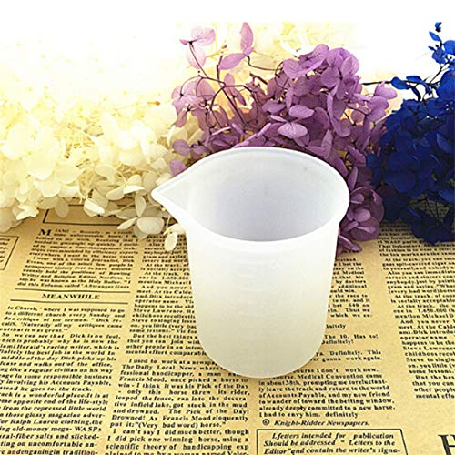 VWH Silicone Measuring Cups Liquid Measure Cup for Resin Glue Tool Jewelry Handmade Craft DIY by VWH (Image #3)