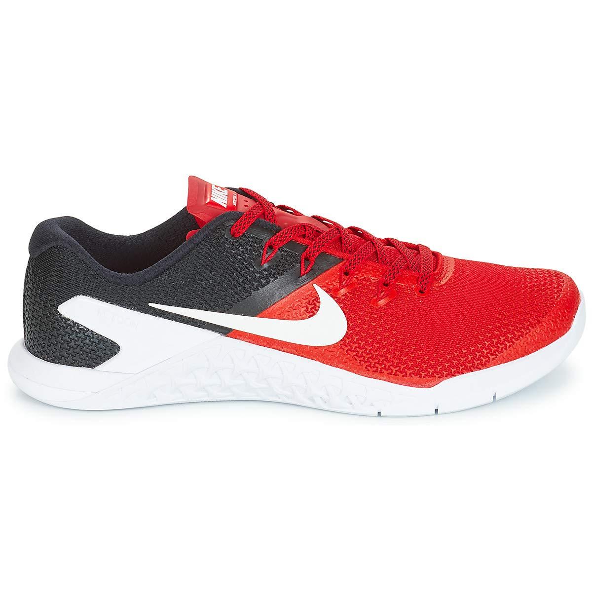 Nike Metcon 4, Zapatillas de Deporte para Hombre, (University Red/Black/White 600), 44 EU: Amazon.es: Zapatos y complementos