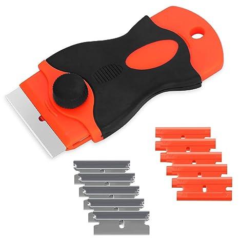 Rascador de vitrocerámica con 6 cuchillas de acero ...