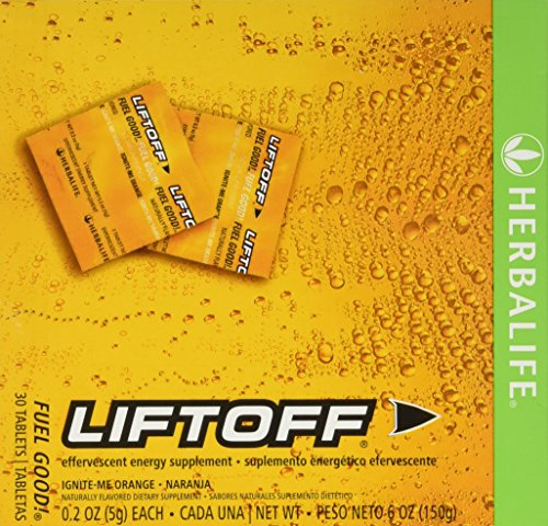 Herbalife Liftoff Ignite Orange 30 Tabs (Herbalife Products For Weight Loss Side Effects)