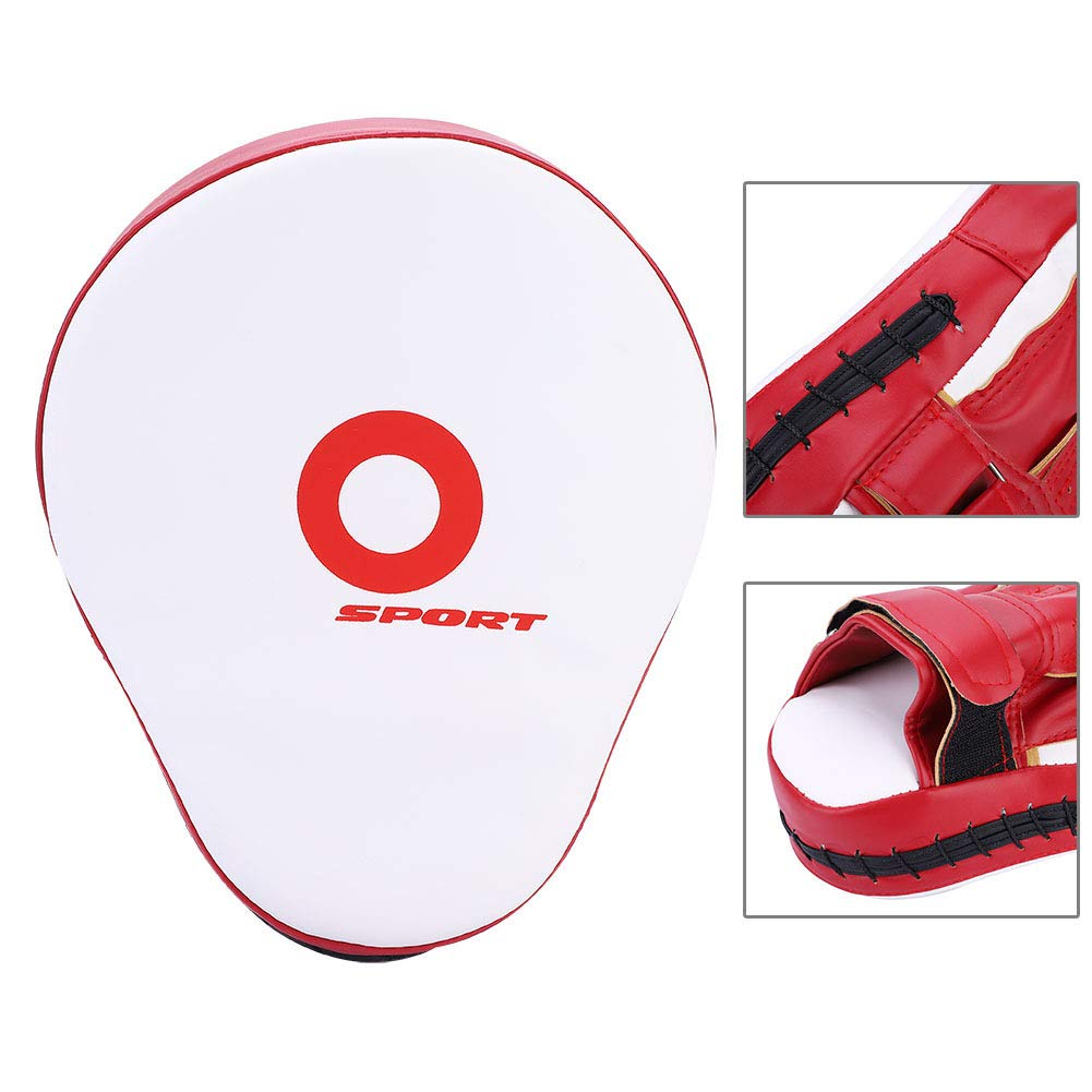 Breathable Thickened PU Target Hand Pads Curved Punching Mitts for Combat MMA Boxing Training Dilwe Punching Mitts