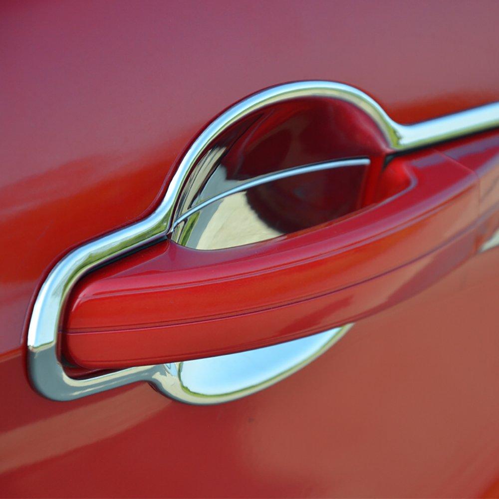 behave WMW0069 A maniglia auto copre, auto Accessores set completo cromato maniglia copertura, auto proteggere Trim (8 pezzi) auto proteggere Trim (8pezzi)