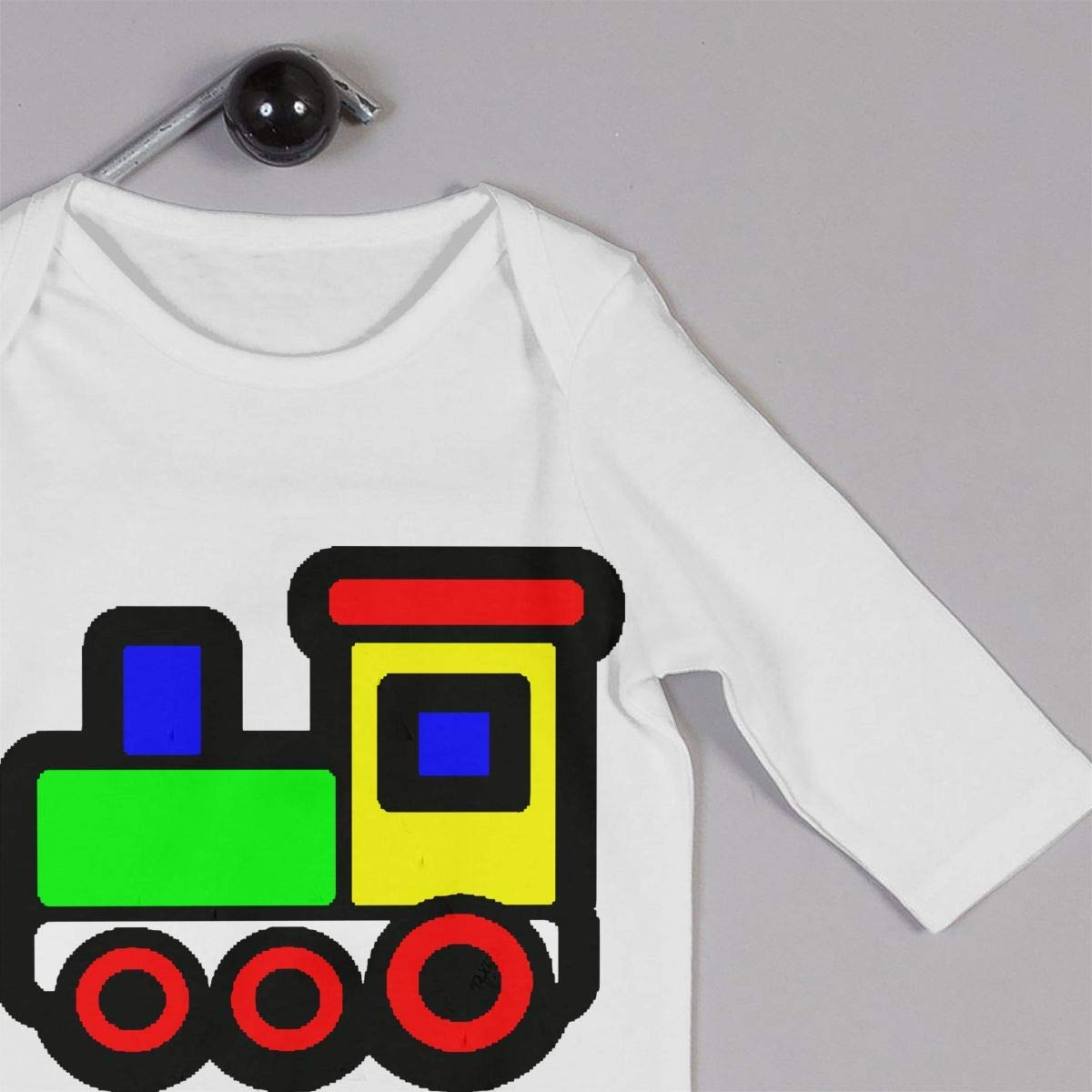 TYLER DEAN Baby Boy Coverall Train Cartoon Toddler Jumpsuit