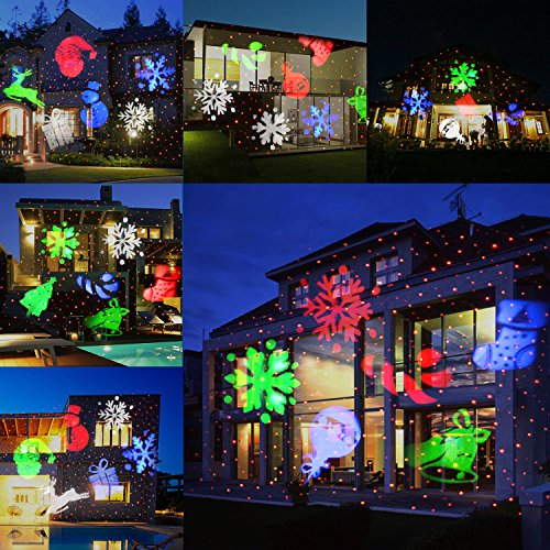 Unifun Christmas Laser Projector Light Bright Led