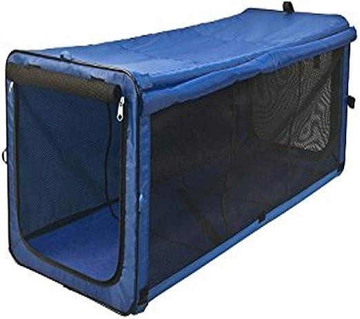 One for Pets The Indoor/Outdoor Cat Enclosure, Cat Playpen - Blue, 48