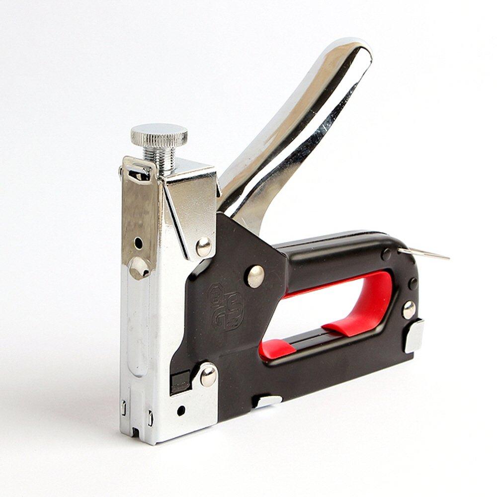 Light Duty Staple Gun Hand Nailer Nail Gun Steel Aluminum Stapler(3in 1)