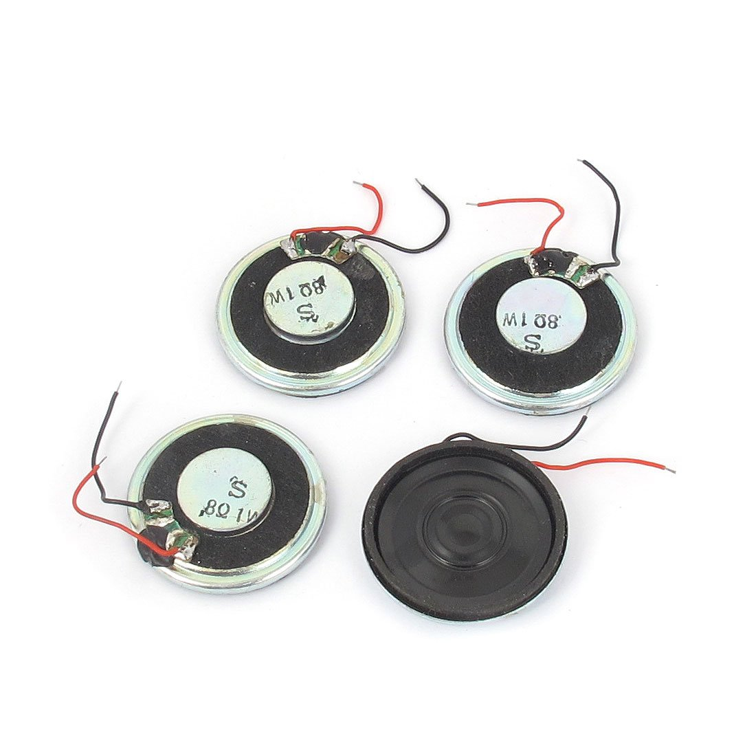 1W 8Ohm Magnet Mini Lautsprecher MP3MP4Player Lautsprecher 28mm Dia 4 sourcing map a15102900ux0379
