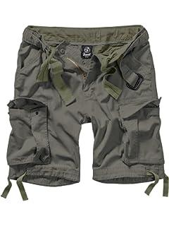 Brandit Basic Vintage Herren Cargo Short  Amazon.de  Bekleidung 3ec89f2211