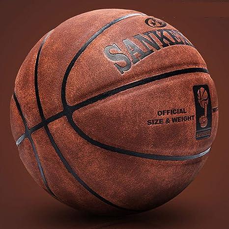 Baloncesto, Baloncesto De Piel Nº 7 Resistente Al Desgaste Textura ...
