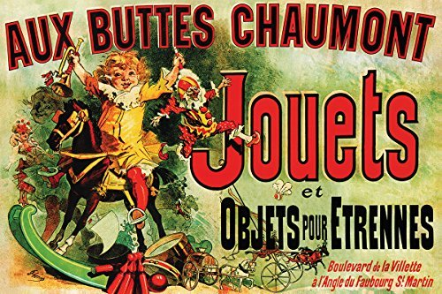 Buyartforless Jouets - Vintage Ad (As Seen on Friends) 36x24 Art Poster Print Vintage Advertising 19th Century (Small Poster Friend)