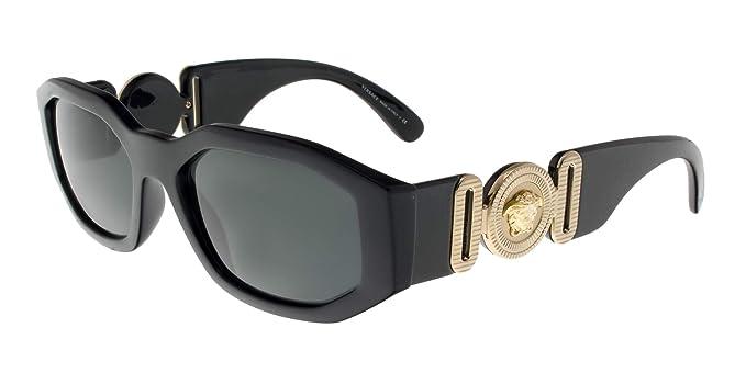 Amazon.com: Versace VE4361 53 - Gafas de sol para hombre y ...