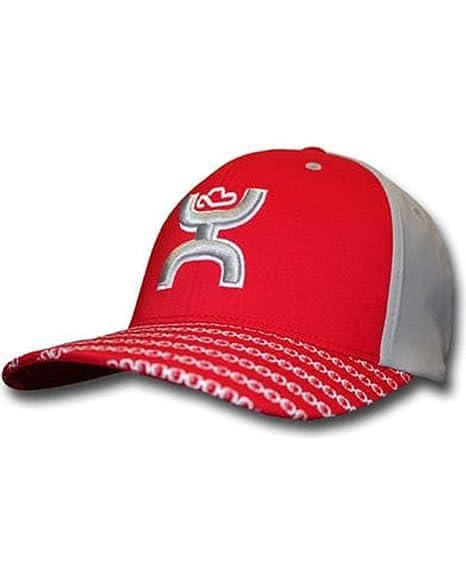 7d67a0f28 HOOey Men's Solo Iii Flexfit Hat Red L/X at Amazon Men's Clothing store: