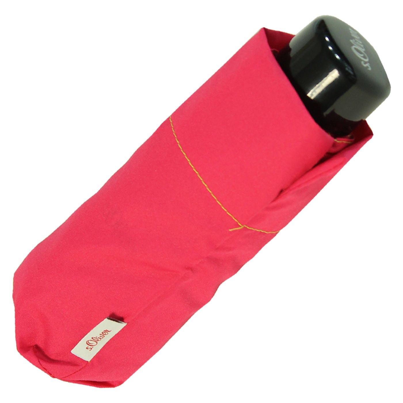 s.Oliver Super Mini Damen Schirm leicht Taschenschirm Dynamic