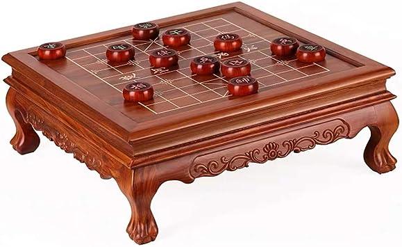 GZ Xiangqi de Mesa Chino Juego de ajedrez Estrategia Juegos de Mesa, Juegos Inicio clásico de la Educación for 2 Jugadores (Color : Red) : Amazon.es: Juguetes y juegos