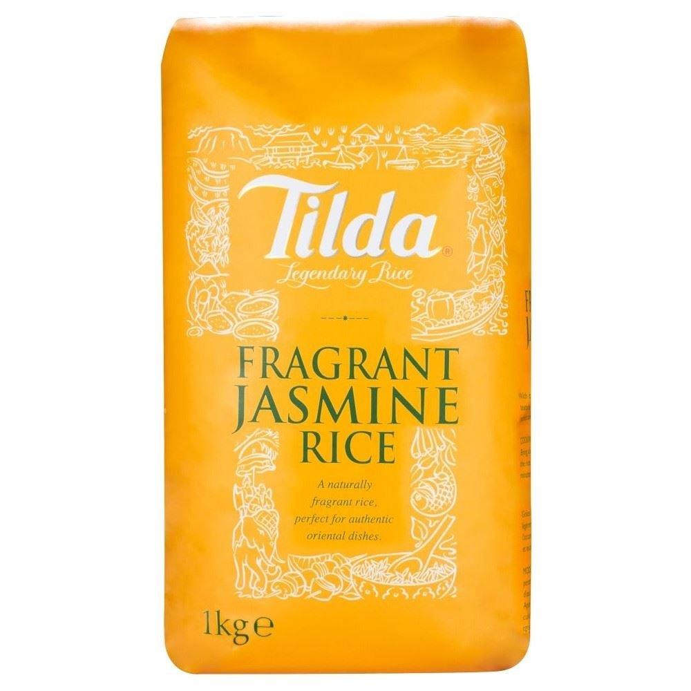 Tilda Fragranti Jasmine Rice (1Kg) - Pack of 6 by Tilda