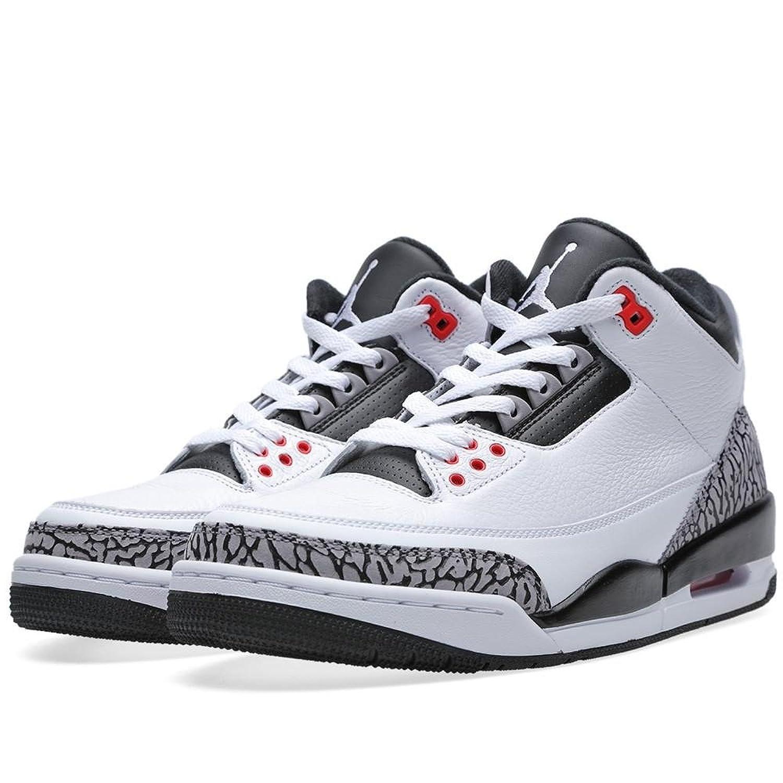 Air Jordan 3 Retro (blanc / Gris Infrarouge Noir-loup 23) La Façon Dont Sont La Plupart Des Nutriments b3i8UisE