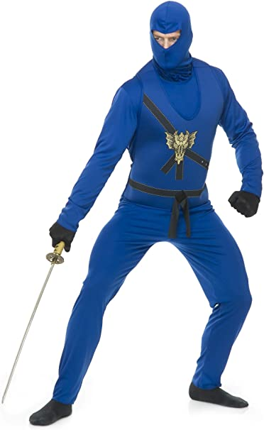 Amazon.com: Charades Mens Ninja Avengers Costume Series I ...