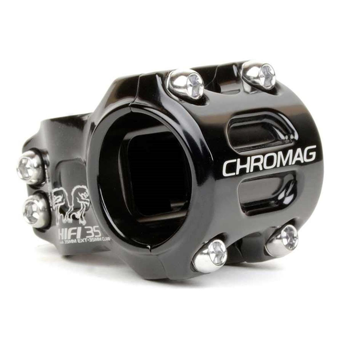 Chromag Vorbau HiFi V2 0° 35 mm Schwarz