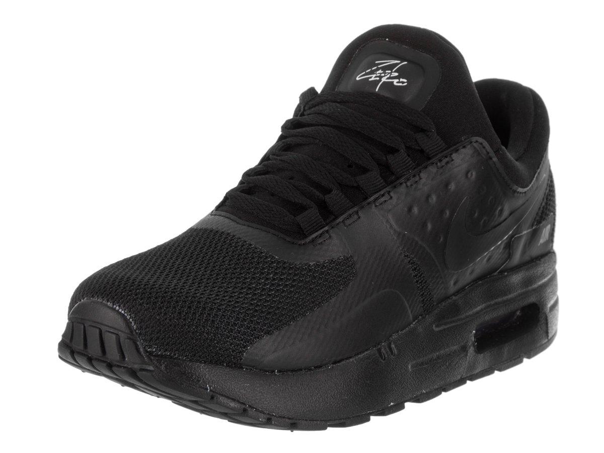 NIKE Kids Air Max Zero Essential PS Black/Black/Black Running Shoe 2.5 Kids US