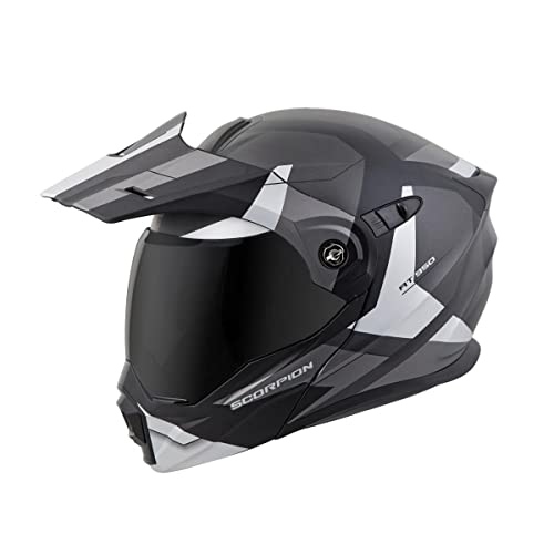 Scorpion EXO-AT950 Modular Neocon Street Bike Motorcycle Helmet - Silver/Large