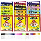 Dry Erase Pockets, 30 Pack of 10