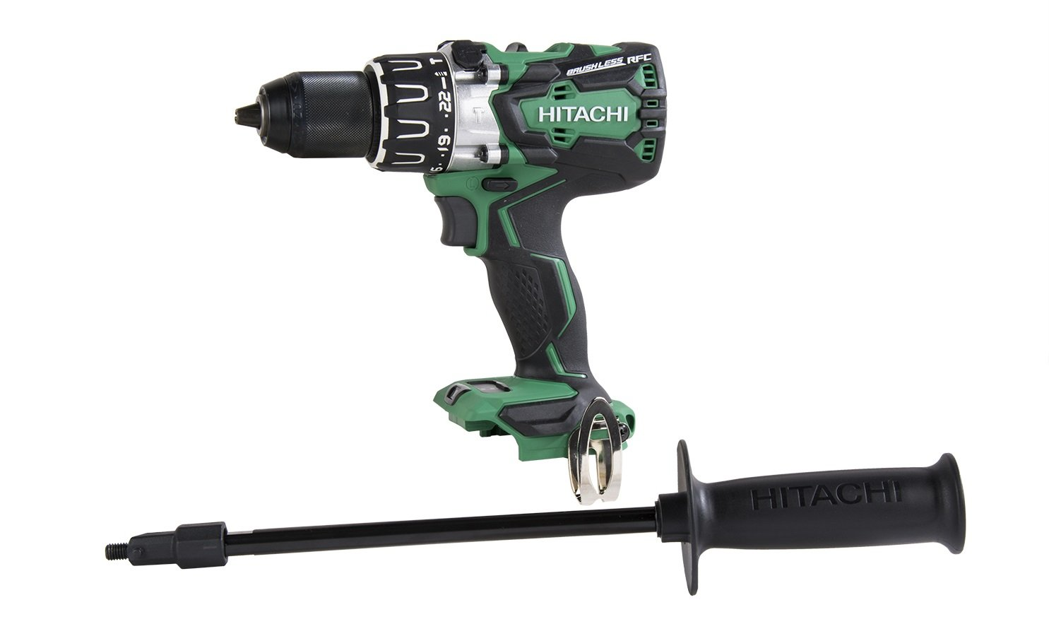 Hitachi DV18DBL2P4 18V Brushless Lithium Ion Cordless 1 2 Hammer Drill without Battery