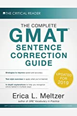 The Complete GMAT Sentence Correction Guide Paperback