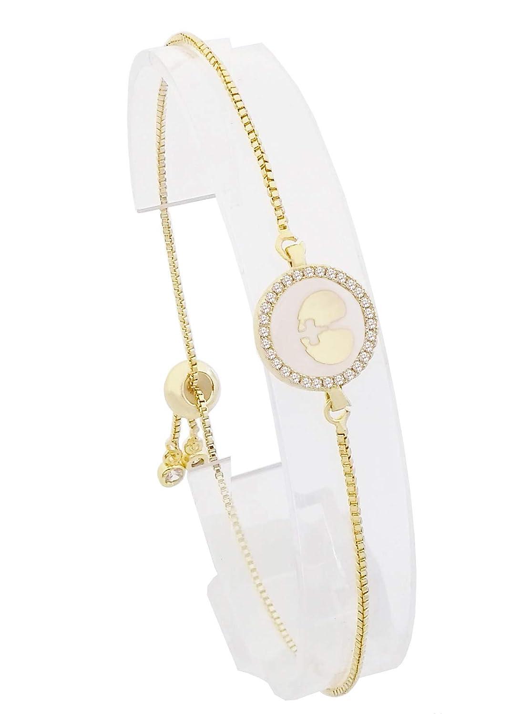 CILILI Horoscope Zodiac 12 Astrology Constellations Shell Rhinestones Disc Charm Snake Chain Bracelet Anklet for Girls Women