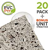 PVC-Free Corner Protectors | Extremely Strong 3M Adhesive with No Air Bubbles | Perfect for Baby Proofing and Child Safety | Soft Corner Guards Protect from Sharp Tables and Counters | Eco-Friendly