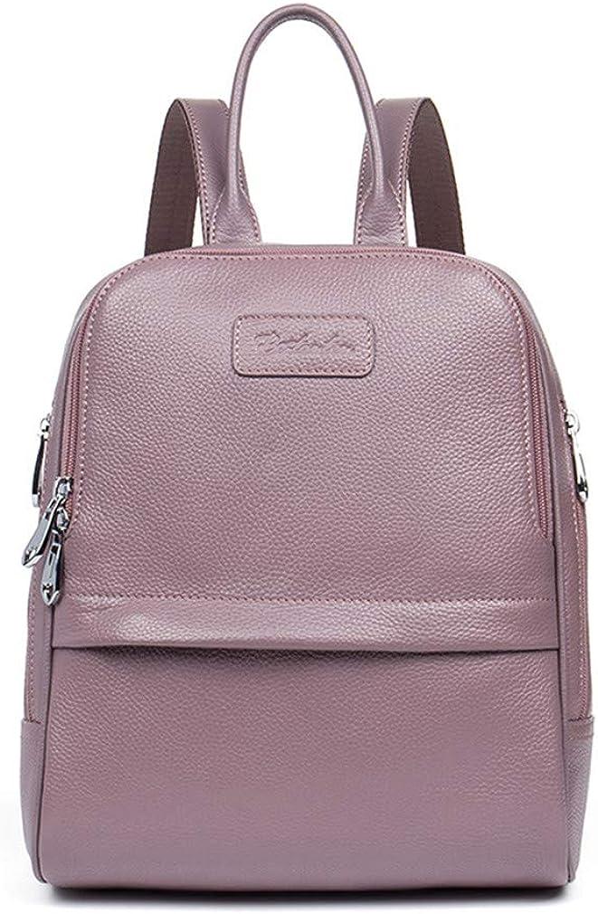 Fashion Women Zipper Leather Backpack Preppy Style Girls School Bags Backpacks